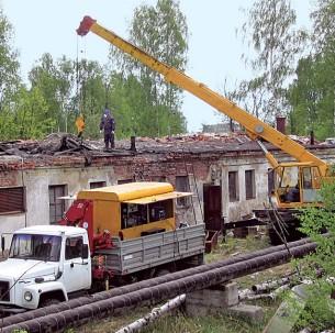 Радиационно-аварийные работы в г. Кольчугино Владимирской области