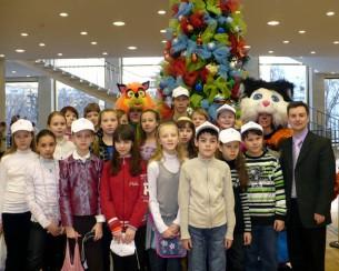 Дети корабелов в Москве
